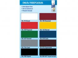 Емаль універсальна 400мл Синій 211 (RALL 5010) ТМSTAR PAINT