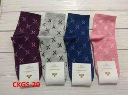 Шкарпетки жіночі(10 пар/уп)стрейч асорті CKGS-20 р.36-40 ТМЗолотий Клевер