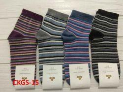 Шкарпетки жіночі(10 пар/уп)стрейч асорті CKGS-15 р.36-40 ТМЗолотий Клевер