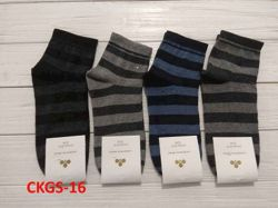 Шкарпетки жіночі(10 пар/уп)стрейч асорті CKGS-16 р.36-40 ТМЗолотий Клевер