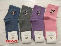 Шкарпетки жіночі(10 пар/уп)стрейч асорті CKGS-9 р.36-40 ТМЗолотий Клевер