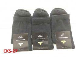 Шкарпетки чол.однот.арт.CKS27 чорні р.27(10пар/уп) ТМЗолотий Клевер