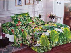 Комплект постільної білизни 2 спальний 70*70 полібязь 3Д арт.95 ТМConstancy