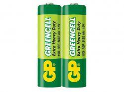 Батарейка R06 GP зелена в спайці 2шт 1739 ТМGREENCELL