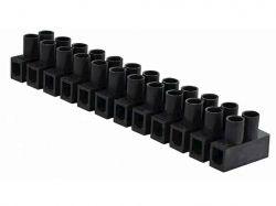 Клемна колодка тип Н 2,5-4 мм2/3А чорна ТМАСКО