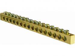 Нульова шина 16 отв. (6*9) ТМАСКО