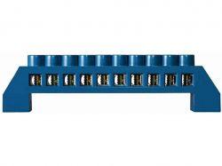 Нульова шина в пластиковому корпусі BC-6A 10 отв. (6*9) ТМАСКО