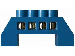 Нульова шина в пластиковому корпусі BC-6A 4 отв. (6*9) ТМАСКО