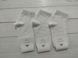 Шкарпетки жін. демісезонi бiлi (10 пар/уп) р.23-25 арт.СКGV 24 ТМЗолотой клевер
