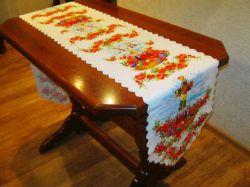 Доріжка на стіл великодня 36х210см, арт.22 ТМBELLO-PRINT
