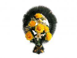 Кошик з квітами політелен № 593/05706 ТМХАРЬКОВ