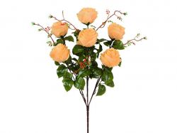Букет штучних Роз з гілками 62см. (г-7; р-10) 2008 ТМКИТАЙ