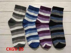 Шкарпетки жiн. демісезонi мiкс (10 пар/уп) р.23-25 арт.СKGV 25 ТМЗолотой клевер