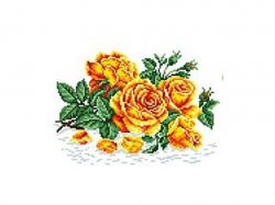 Схема для вишивки Aida №16 Аромат троянди КТК-5033 ТМКаролінка Азовя