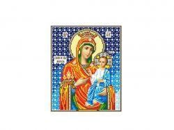 Схема для вишивки Aida №16 Ікона Б. М. Іверська ККИ-5001 ТМКаролінка Азовя