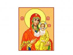 Схема для вишивки Aida №16 Ікона Б.М. Смоленская ККИ-5002 ТМКаролінка Азовя
