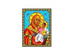 Схема для вишивки Aida №16 Ікона БМ Віфлеємська ККИ-5039 ТМКаролінка Азовя