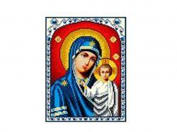 Схема для вишивки Aida №16 Ікона БМ Казанська ККИ-5007/2 ТМКаролінка Азовя