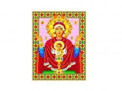 Схема для вишивки Aida №16 Ікона БМ ККИ-5016 ТМКаролінка Азовя