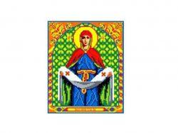 Схема для вишивки Aida №16 Образ Пр. Богородиці ККИ-5037 ТМКаролінка Азовя