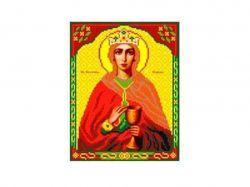 Схема для вишивки Aida №16 Св. Влм. Варвара ККИ-5035 ТМКаролінка Азовя