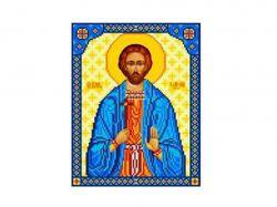 Схема для вишивки Aida №16 Св. Іоанн Сочавський ККИ-5029 ТМКаролінка Азовя