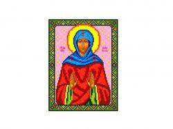Схема для вишивки Aida №16 Св. Кіра Берійская ККИ-5042 ТМКаролінка Азовя