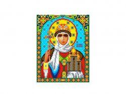 Схема для вишивки Aida №16 Св. Княгиня Ольга ККИ-5020 ТМКаролінка Азовя