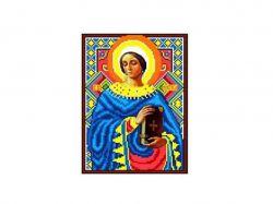 Схема для вишивки Aida №16 Св. Муч. Анастасія ККИ-5030 ТМКаролінка Азовя