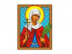Схема для вишивки Aida №16 Св. Муч. Валентина ККИ-5043 ТМКаролінка Азовя