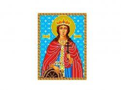 Схема для вишивки Aida №16 Св. Муч. Катерина ККИ-5027 ТМКаролінка Азовя