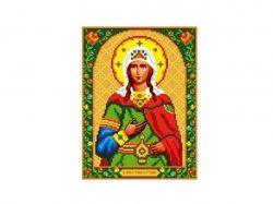 Схема для вишивки Aida №16 Св. Муч. Фотина ККИ-5024 ТМКаролінка Азовя