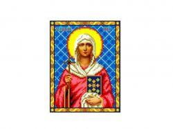 Схема для вишивки Aida №16 Св. Равноап. Ніна ККИ-5041 ТМКаролінка Азовя