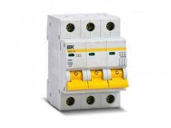 Автоматичний вимикач ВА47-29 3P C40 4.5кА MVA20-3-040-C ТМIEK