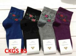 Шкарпетки жiн. демісезонi мікс (10 пар/уп)р.23-25 арт.СKGS 85 ТМЗолотой клевер