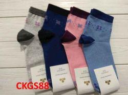 Шкарпетки жiн. демісезонi мiкс (10 пар/уп)р.23-25 арт.СKGS 88 ТМЗолотой клевер