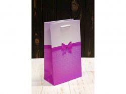 Пакет подарунк. середній вертикальний 26*15,5*8см №ПАК СР-1020КРТ ТМУПАКОВКИН