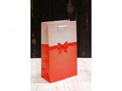 Пакет подарунк. середній вертикальний 26*15,5*8см №ПАК СР-1019КРТ ТМУПАКОВКИН