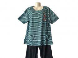 Костюм жіночий (футболка/капрі) мікс р.XL GUPpr1003-B01 ТМSHELLY