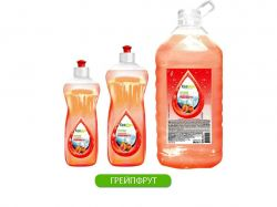 Миючий засіб для посуду Грейпфрут 0,5л ТМEcoMax
