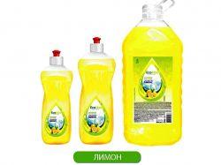 Миючий засіб для посуду Лимон 0,5л ТМEcoMax