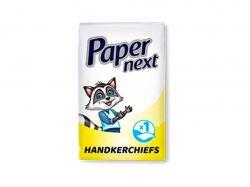 Носові хустинки одношарові Без аромату (10шт) ТМPaper Next