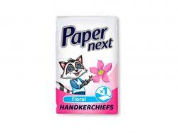 Носові хустинки одношарові Квітка (10шт) ТМPaper Next