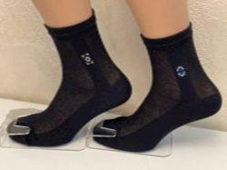Шкарпетки чоловічі сiтка арт.М0121-12 (12 пар/уп) р.25 чорнi ТМЖитомир
