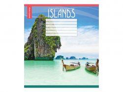 Зошит 24 лінія (16 шт) арт.2914л Острови ТММРІЇ ЗБУВАЮТЬСЯ