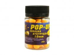 Бойл Pop-up 10мм (солодка кукурудза) 20г.ТМ3K BAITS