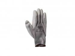 Перчатки робочі сірий нейлон (сірий нітрил/частковий облив) арт.N 300А ТМКИТАЙ