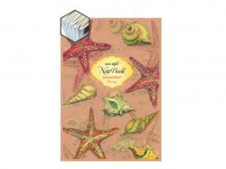 Записна книжка KRAFT А6, 36 арк. клітинка CS6136K-001 (центр. шов) ТМГРАФІКА