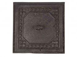 Дверка чавунна прочисна Мікс (Вишиванка-Модерн) 170х170 (89) 2,7кг ТМБУЛАТ