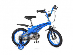 Велосипед дитячий 2 колісний 14 синій ТМPROFI
